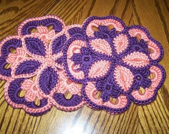 Crocheted Hotpads/Trivets