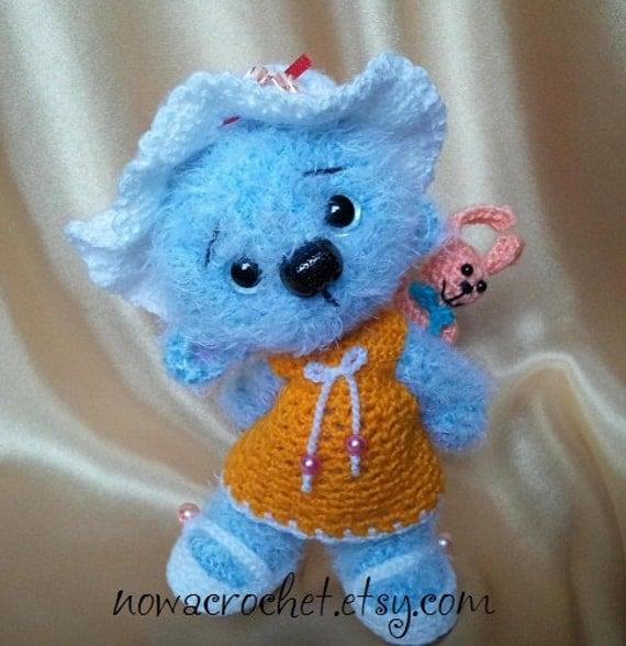 Little blue bear Bea amigurumi PDF crochet pattern by ...