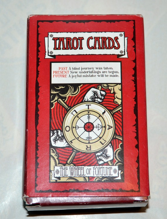 Tarot Cards, Full set of Wheel of Fortune Tarot Cards, 78 Total cards with Instructions, Like New