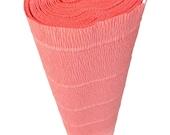 Italian Crepe Paper roll 180 gram  -  601 SALMON