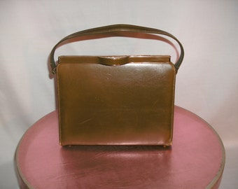 Vintage 1970's Brown Handbag