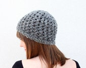 Women's Knitted Beanie Waffle Texture Hipster Hat
