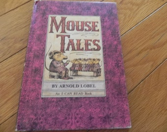 Vintage  Book - Mouse Tales - 1972