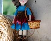 OOAK Art Doll:Cloth&Clay