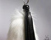 Spooky Fox Tail Keychain