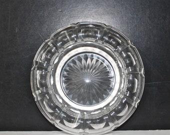 Vintage Cut Crystal Dish
