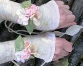 Enchanted Fairytale Nuno Felt Cuffs