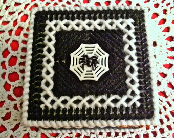 Black And White Spider Trinket Box ON SALE