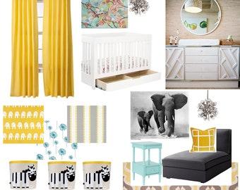 E-Decorating Service (Nursery, Kids Rooms)