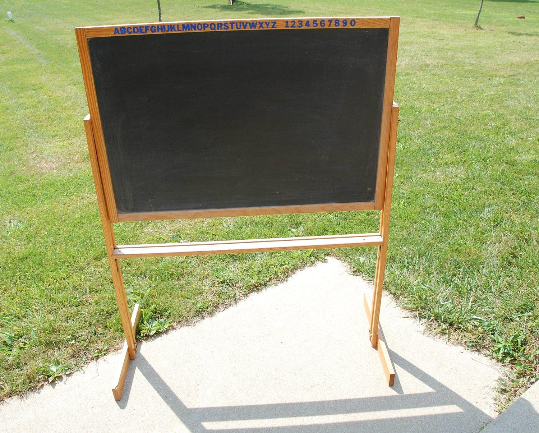 Vintage Chalkboard On Stand