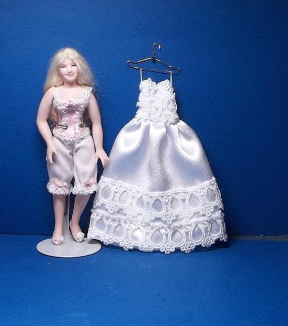 1/12 Scale Wedding Dress