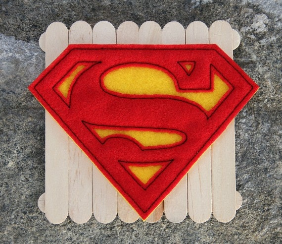 Adult Size Iron On Superman Patch