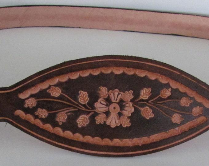 leather dress belt, belts, leather belts, brown belts, stamped leather,  Ladies dress belts .studio45rhm design