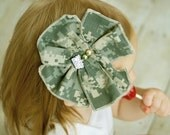 Proud Military Bow and Headband Only