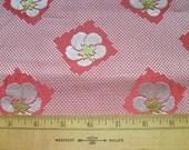 Kimono maru obi fabric  pink ume plum sakura