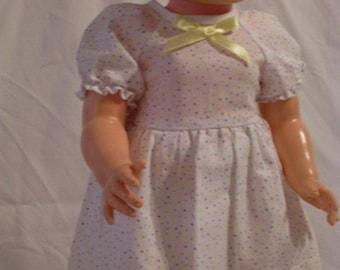 """19-20"""" Polk-A-Dot Dress and Panty Set"""