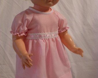"19-20"" Pale Pink Dress and Panty Set"