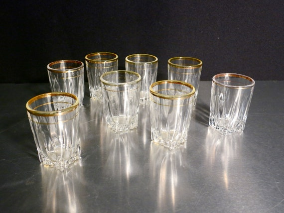 Vintage Shot Glasses by Federal Glass
