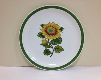 Harmony House Sunland Chop Plate Stoneware Decorative Plate