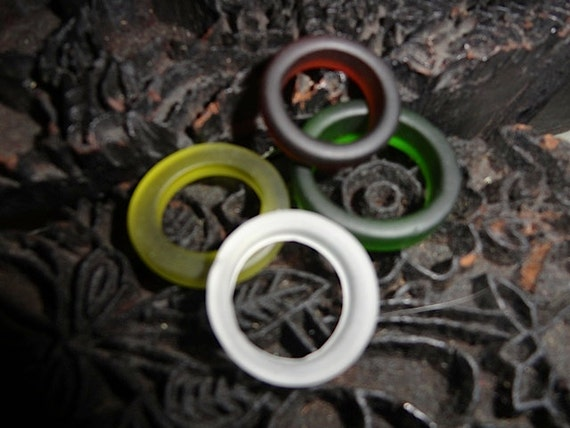 Sea Glass Rings   Quanity Discount