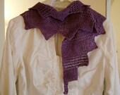 Lilac Princess scarf (knitting pattern)