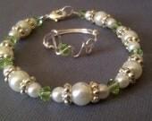 Flower Girl Ring and Bracelet Gift Set-