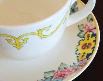 Pfaltzgraff Bone China Cup and Saucer