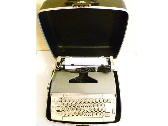 RESERVED Vintage Smith Corona Typewriter Electric