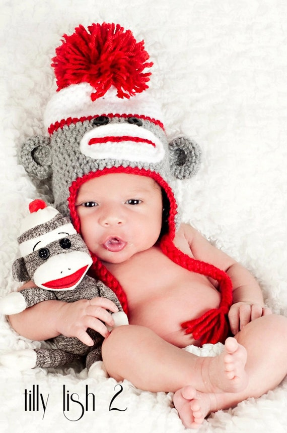 Find great deals on eBay for baby sock monkey hat. Shop with confidence.