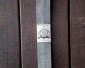 Reverse Cone Denim Standard Tie