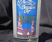 1988 official BREEDERS CUP Glass