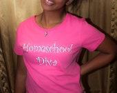 Homeschool Diva T-Shirt