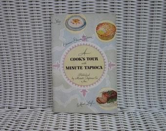 1929 Cookbook Tapioca Pudding