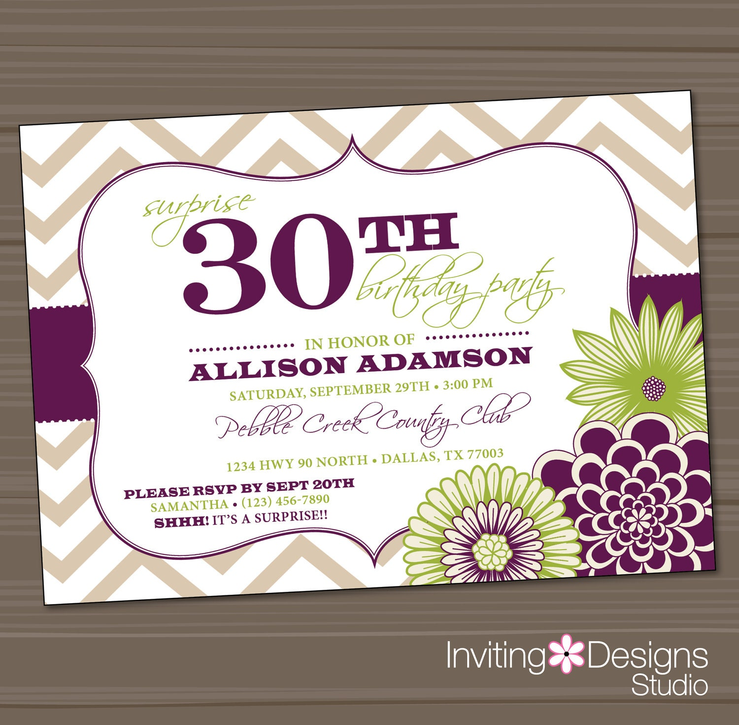 30Th Party Invitations with amazing invitations ideas