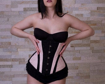 "SIZE 24"" inch Ready to ship Coutil Waist Training Corset on SALE!!!!!!!"