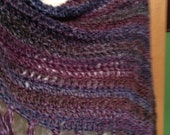 My Favorite Poncho- Multi Blues and Purples