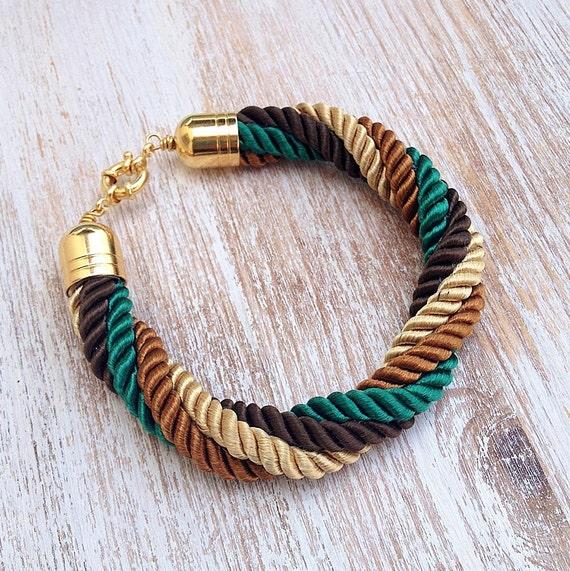 Four colors Nautical Cord Bracelet