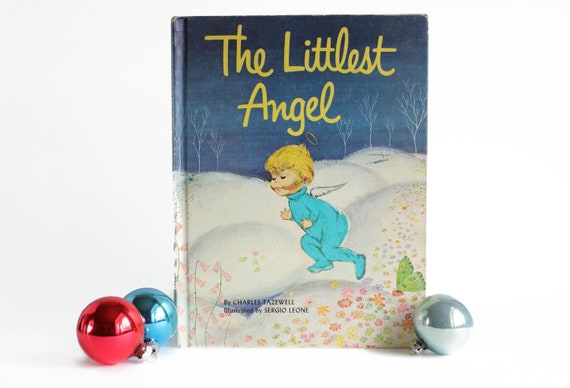The Littlest Angel Book Christmas Story 1962 By