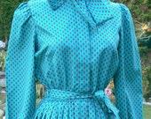Breli union label red diamond pleated dress size 12