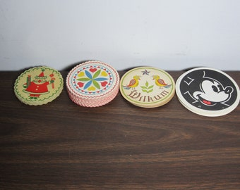 Vintage Paper Coasters