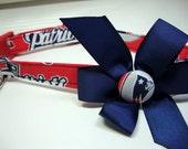 New England Patriots Dog Collar Medium