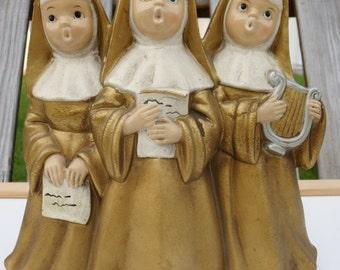 Vintage Musical Nun Trio