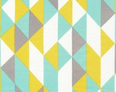 On Point in Minty, Simpatico by Michelle Engel Bencsko for Cloud9 Fabrics, ORGANIC, 1 Yard