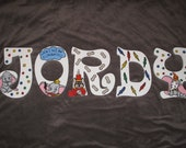 Reserved for Janice Dumbo Inspired Hand Painted Letters ***MESSAGE BEFORE ORDERING***