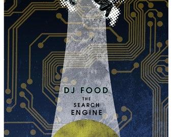 DJ Food 18 x 24 Silk screened poster