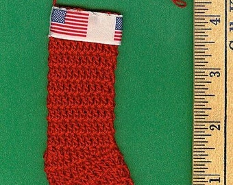 All-American Christmas Stocking Ornaments