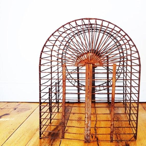 Antique Victorian Squirrel Cage