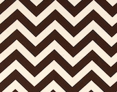 Table Runner - Brown and Natural Chevron Table Runners - Chevron Table Runners For Weddings or Home Decor - Select A Size
