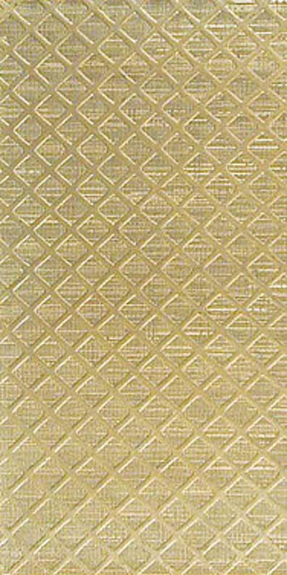 Textured Brass Sheet 6 X 2 5 Br64 Large Bracelet Size By