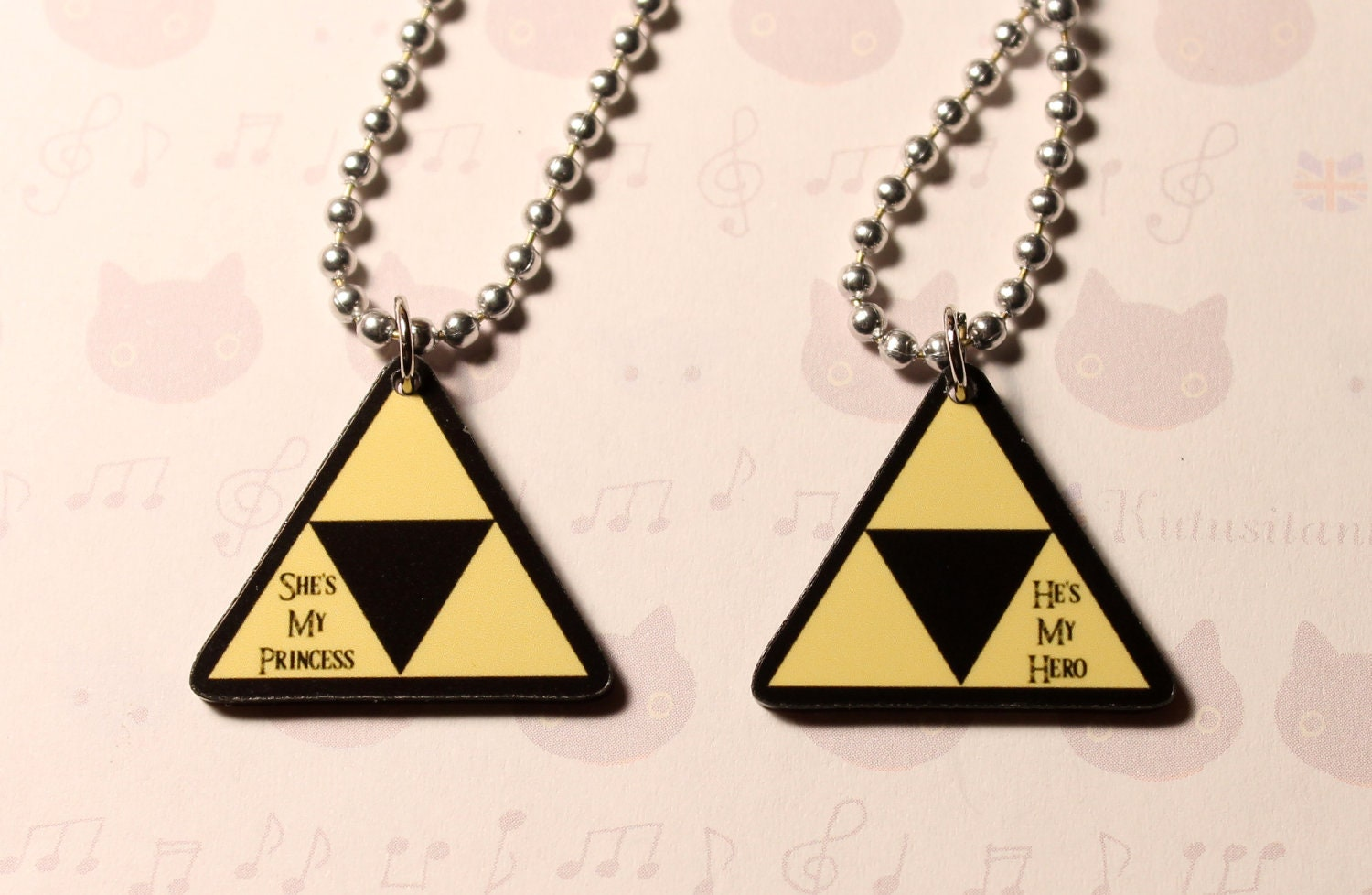 Legend Of Zelda Couple Necklace - Best Seller Necklace Review